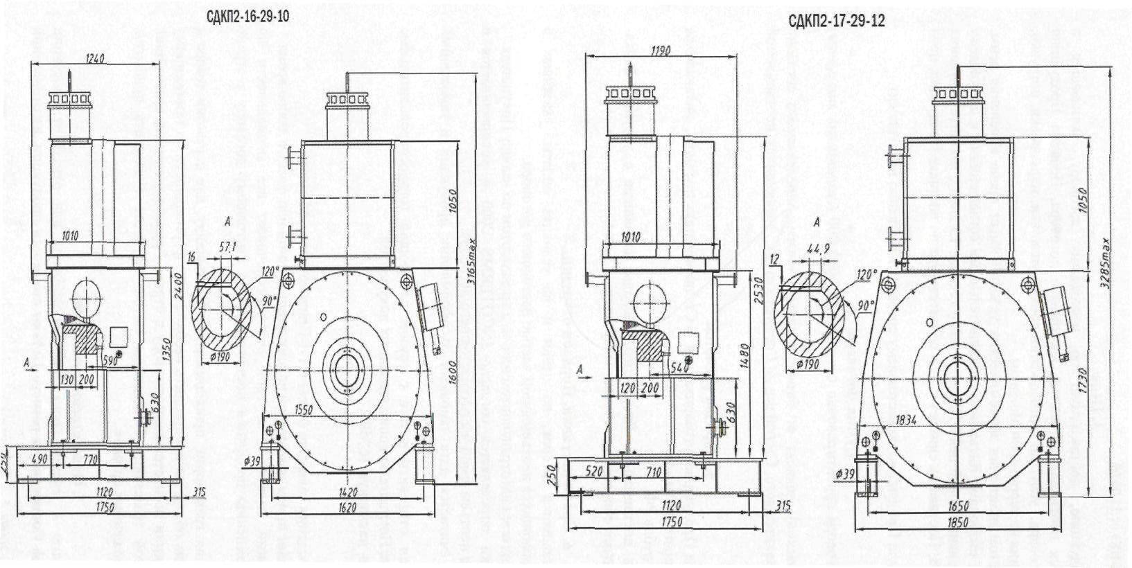 схема обмотки электродвигателя сдк2-17-26-12к